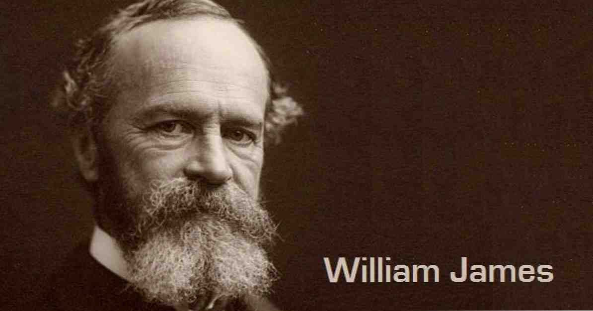 William James Amerika'da Psikoloji babası hayatı ve eserleri / biyografiler